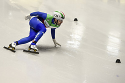 February 8, 2019 - Torino, Italia - Foto LaPresse/Nicolò Campo .8/02/2019 Torino (Italia) .Sport.ISU World Cup Short Track Torino - 5000 meter Men Relay Quarterfinals.Nella foto: Mattia Antonioli..Photo LaPresse/Nicolò Campo .February 8, 2019 Turin (Italy) .Sport.ISU World Cup Short Track Turin - 5000 meter Men Relay Quarterfinals.In the picture: Mattia Antonioli (Credit Image: © Nicolò Campo/Lapresse via ZUMA Press)