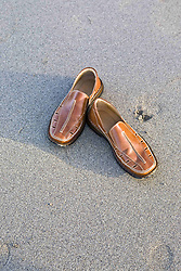 July 21, 2019 - Shoes On Sand (Credit Image: © Caley Tse/Design Pics via ZUMA Wire)