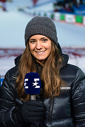 February 8, 2019 - Re, SWEDEN - 190208 Isabel Boltenstern in the Eurosport studio ahead of the  women's alpine combination during the FIS Alpine World Ski Championships on February 8, 2019 in re..Photo: Joel Marklund / BILDBYRN / kod JM / 87851 (Credit Image: © Joel Marklund/Bildbyran via ZUMA Press)
