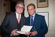 CHRISTOPHER JOLL; PHILIP MOULD, Book launch for The Speedicut Papers, edited by Christopher Joll.- Bucks Club, Clifford St. London W1.