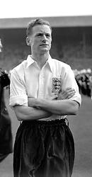Tom Finney, Preston and England forward. April 1951