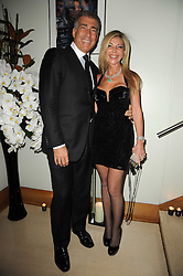 LISA TCHENGUIZ and STEVE VARSANO at the launch party for 'Promise', a new capsule ring collection created by Cheryl Cole and de Grisogono held at Nobu, Park Lane, London on 29th September 2010.