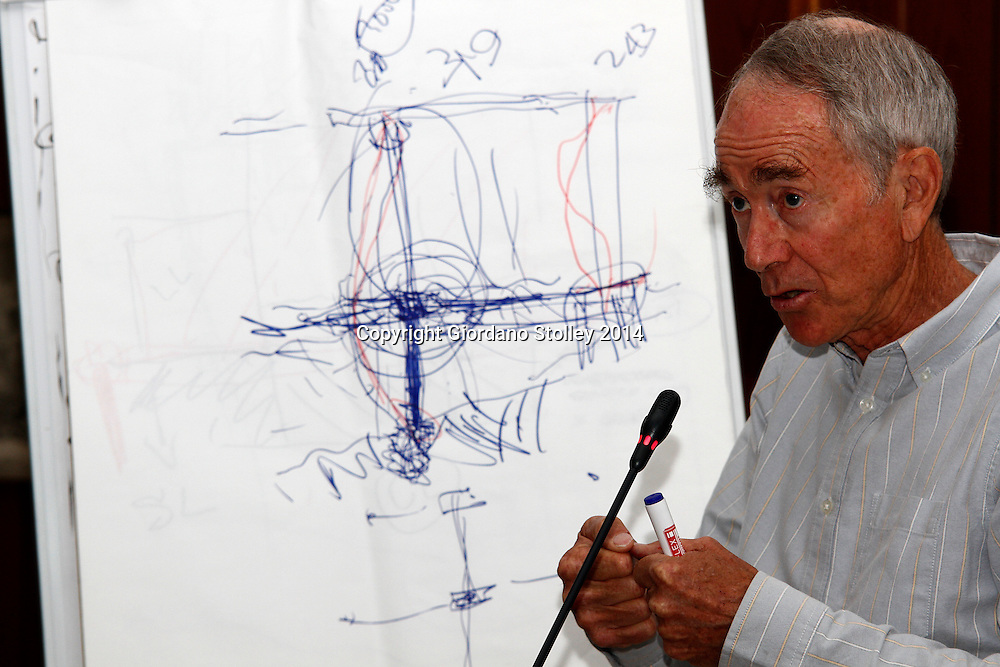 DURBAN - 21 July 2014 - Rob Young, an expert engineer gives testimony regarding the consuting engineer's design for the Tongaat Mall Inquiry. The mall collapsed in November, injuring 29 and killing two. Picture: Allied Picture Press/APP