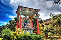 Vista do Centro Budista Khadro Ling, em Três Coroas - RS. FOTO: Jefferson Bernardes / Preview.com