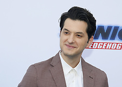 Ben Schwartz at the Los Angeles premiere of 'Sonic the Hedgehog' held at Paramount Theatre in Los Angeles, USA on January 25, 2020.