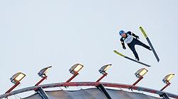 01.03.2017, Lahti, FIN, FIS Weltmeisterschaften Ski Nordisch, Lahti 2017, Nordische Kombination, Skisprung, Grossschanze HS130 m, im Bild Bernhard Gruber (AUT) // Bernhard Gruber of Austria during Skijumping competition of Nordic Combined of FIS Nordic Ski World Championships 2017. Lahti, Finland on 2017/03/01. EXPA Pictures © 2017, PhotoCredit: EXPA/ JFK