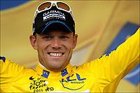 Sykkel<br /> Tour de France 2011<br /> 09.07.2011<br /> Foto: PhotoNews/Digitalsport<br /> NORWAY ONLY<br /> <br /> 8th stage / Aigurande - Super-Besse Sancy<br /> <br /> <br /> HUSHOVD Thor (TEAM GARMIN - CERVELO - NOR)