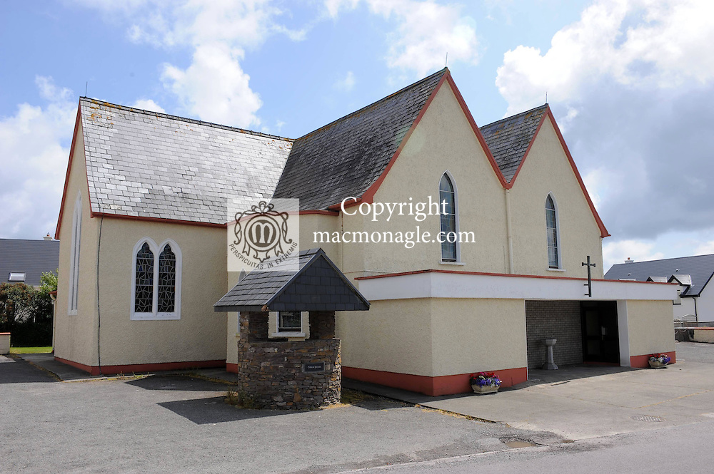 The local church in The village of Dungegan, Ballinskelligs, County Kerry, Ireland..Picture by Don MacMonagle