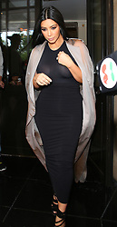 Kim Kardashian leaving her hotel in London, UK. 27/06/2015<br />BYLINE MUST READ : JAMESY/GOTCHA IMAGES<br /><br />Copyright by © Gotcha Images Ltd. All rights reserved.<br />Usage of this image is conditional upon the acceptance <br />of Gotcha Images Ltd, terms and conditions available at<br />www.gotchaimages.com