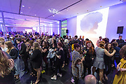 """The crowds gather before """"Hair Affair: The Art of Hair"""" at Madison Museum of Contemporary Art in Madison, WI on Thursday, April 25, 2019. The sixth biennial brought an array of designers and stylists from across Wisconsin to create under the theme of """"Zodiac."""""""