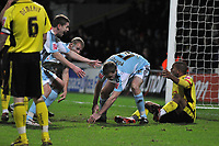 Photo: Richard Lane/Richard Lane Photography. Watford v Derby County. Coca Cola Championship. 12/12/2009. <br /> Chris Porter (right)  after coming on as a sub and scoring a late winning goal for Derby County