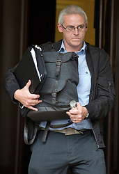 File photo dated 27/09/16 of Alex Beech, 44, outside City of London Magistrates' Court in London, where he is accused of dishonestly arranging for beef and horsemeat to be combined as beef for sale in the UK's meat industry.