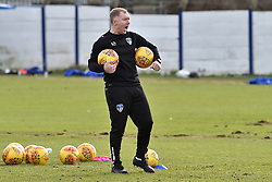 February 11, 2019 - Oldham, England, United Kingdom - Paul Scholes taking his first training session as Oldham Athletic manager at Boundary Park, Oldham on Monday 11th February 2019. (Credit Image: © Mi News/NurPhoto via ZUMA Press)