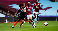 Football - 2019 / 2020 Premier League - Aston Villa vs. Chelsea<br /> <br /> <br /> Willian of Chelsea and Douglas Luiz of Aston Villa at Villa Park. <br /> <br /> <br /> COLORSPORT/LYNNE CAMERON