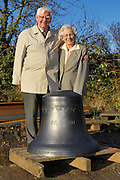 UK - Friday, Nov 07 2008:  Images of the recently cast bells destined for St Mary's Church on the Isles of Scilly. The bells were cast at Whitechapel Bell Foundry, London and were photographed at Nicholson Engineering in Bridport, Dorset. Nicholson are building the frame to hold the bells. (Photo by Peter Horrell / http://www.peterhorrell.com)