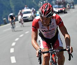 06.07.2011, AUT, 63. OESTERREICH RUNDFAHRT, 4. ETAPPE, MATREI-ST. JOHANN, im Bild Stefan Rucker, (AUT, WSA Viperbike Kaernten) am Anstieg zum Hochtor // during the 63rd Tour of Austria, Stage 4, 2011/07/06, EXPA Pictures © 2011, PhotoCredit: EXPA/ S. Zangrando