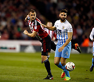 James Hanson of Sheffield Utd during the English League One match at Bramall Lane Stadium, Sheffield. Picture date: April 5th 2017. Pic credit should read: Simon Bellis/Sportimage