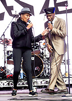 The Selecter at Camp Bestival 2021, Lulworth Castle photo by Brian Jordan