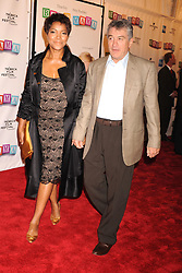 NEW YORK - APRIL 23, 2008:   Co-founder of Tribeca Film Festival Robert De Niro (R) and Grace Hightower arrive to the 'Baby Mama' premiere at the Ziegfeld Theatre, during the 2008 Tribeca Film Festival on April 23, 2008 in New York City....People:  Robert De Niro; Grace Hightower  ....Must call if interested.Michael Storms.Storms Media Group Inc..305-632-3400 - Cell.305-513-5783 - Fax.MikeStorm@aol.com (Credit Image: © SMG via ZUMA Wire)