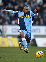 Photo: Marc Atkins.<br /> Wycombe Wanderers v Accrington Stanley. Coca Cola League 2. 20/01/2007.