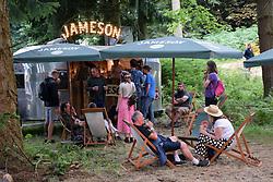 Latitude Festival 2017, Henham Park, Suffolk, UK. Jameson bar in Faraway Forest