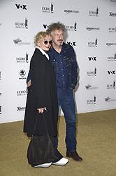 April 12, 2018 - Berlin, Germany - Wolfgang Niedecken mit Ehefrau.Echo Pop Verleihung, Berlin, Germany - 11 Apr 2018.Credit: MichaelTimm/face to face (Credit Image: © face to face via ZUMA Press)