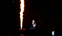 Rugby Union - 2019 Rugby World Cup - Opening Ceremony<br /> <br /> Ritchie McCaw of New Zealand with the RWC at Tokyo Stadium.<br /> <br /> COLORSPORT/LYNNE CAMERON