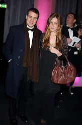 BEN & KATE GOLDSMITH at the Conservative Party's Black & White Ball held at Old Billingsgate, 16 Lower Thames Street, London EC3 on 8th February 2006.<br /><br />NON EXCLUSIVE - WORLD RIGHTS