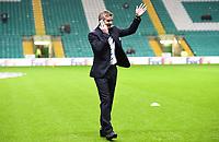 05/11/15 UEFA EUROPA LEAGUE GROUP STAGE<br /> CELTIC v MOLDE FK<br /> CELTIC PARK - GLASGOW<br /> Molde manager Ole Gunnar Solskjaer