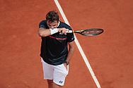Stan Wawrinka (SUI) disappointed during the Roland Garros 2020, Grand Slam tennis tournament, on September 30, 2020 at Roland Garros stadium in Paris, France - Photo Stephane Allaman / ProSportsImages / DPPI