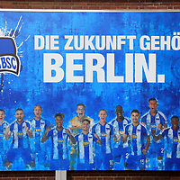 13.02.2020, Sportpark, Berlin, GER, 1.FBL, DFL,, Hertha BSC PK,<br /> DFL, regulations prohibit any use of photographs as image sequences and/or quasi-video<br /> im Bild Teilnehmer :<br /> Werner Gegenbauer (Hertha BSC Berlin)<br /> Lars Windhorst,<br /> Manager Michael Preetz (Hertha BSC Berlin)<br /> <br />       <br /> Foto © nordphoto / Engler