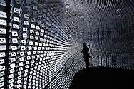 CHINA / Shanghai / The Uk Pavilion designed by Thomas Heatherwick /Shanghai Expo 2010