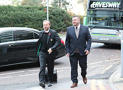 Ed Woodward of The Manchester United team are spotted on their way to catch a flight as the team fly to Turin on Tuesday afternoon to play Juventus in The Champions League on Wednesday night.