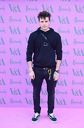 Brooklyn Beckham arrives at the V&A Summer Party at the Victoria and Albert Museum in London.
