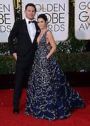 CHANNING TATUM + JENNA DEWAN-TATUM @ the 73rd Annual Golden Globe awards held @ the Beverly Hilton hotel.<br /> ©Exclusivepix Media