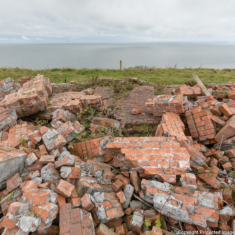 Remains of the Harrington Brick Works, Cumbria.