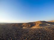 Israel. The Arava desert landscape