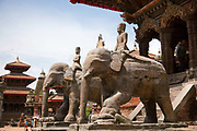Kathmandu Durbar Square. The square is on UNESCO World Heritage Sites.