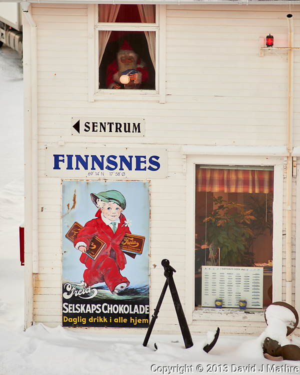 Finnsnes, Norway. Image taken with a Nikon D800 camera and 180 mm f/2.8 lens (ISO 100, 180 mm, f/4, 1/100 sec).