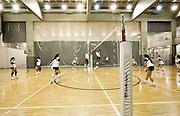 Belo Horizonte, 12 de agosto de 2010..Ensaio do Minas Tenis Clube, como formacao de novos atletas para as Olimpiadas de 2016...Na foto, quadras de suporte ao treinamento esportivo...Foto: Bruno Magalhaes / Nitro