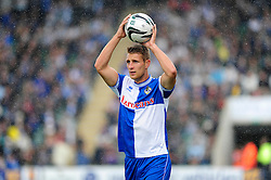 Bristol Rovers' Lee Brown  - Photo mandatory by-line: Dougie Allward/JMP - Tel: Mobile: 07966 386802 07/09/2013 - SPORT - FOOTBALL -  Home Park - Plymouth - Plymouth Argyle V Bristol Rovers - Sky Bet League Two