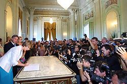 A governadora do Rio Grande do Sul, Yeda Crusius durante a cerimônia de sua posse no Palácio Piratini. FOTO: Jefferson Bernardes/Preview.com