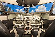 The panel of Joe Shepherd's fully restored Lockheed 12A Electra Junior.
