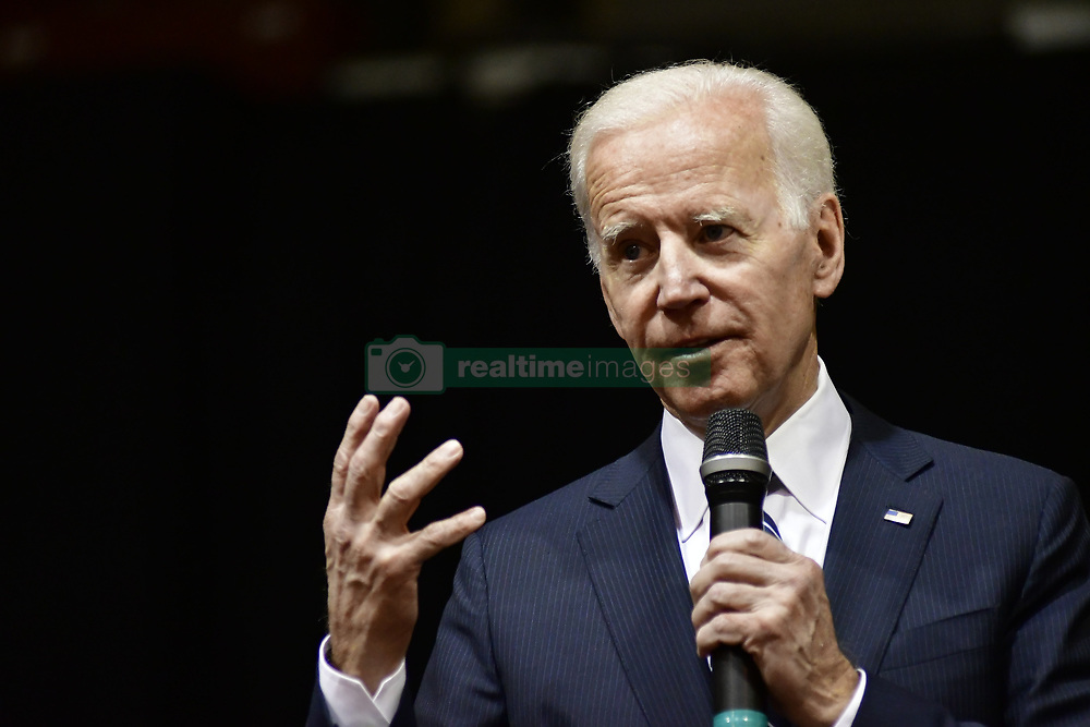 April 24, 2018 - Philadelphia, Pennsylvania, U.S. - JOE BIDEN, 47th vice-president of the United States, delivers a speech in the Carfagno Lecture series about public service and leadership to students, faculty and community members at Saint Josephs University. (Credit Image: © Bastiaan Slabbers/NurPhoto via ZUMA Press)