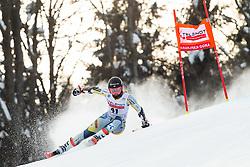 Kristina Riis-Johannessen (NOR) during the Ladies' Giant Slalom at 57th Golden Fox event at Audi FIS Ski World Cup 2020/21, on January 17, 2021 in Podkoren, Kranjska Gora, Slovenia. Photo by Vid Ponikvar / Sportida