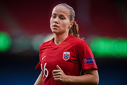 OSLO, NORWAY - Tuesday, September 22, 2020: Norway's Guro Reiten during the UEFA Women's Euro 2022 England Qualifying Round Group C match between Norway Women and Wales Women at the Ullevaal Stadion. Norway won 1-0. (Pic by Vegard Wivestad Grøtt/Propaganda)