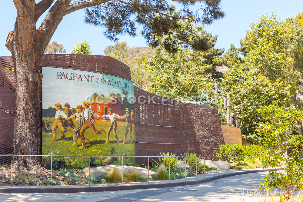 Festival of the Arts Downtown on Laguna Canyon Road