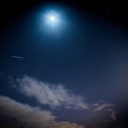 The International Space Station pass The Kelpies