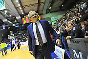 DESCRIZIONE : Eurocup 2013/14 Gr. J Dinamo Banco di Sardegna Sassari -  Brose Basket Bamberg<br /> GIOCATORE : Romeo Sacchetti<br /> CATEGORIA : Allenatore Coach<br /> SQUADRA : Dinamo Banco di Sardegna Sassari <br /> EVENTO : Eurocup 2013/2014<br /> GARA : Dinamo Banco di Sardegna Sassari -  Brose Basket Bamberg<br /> DATA : 19/02/2014<br /> SPORT : Pallacanestro <br /> AUTORE : Agenzia Ciamillo-Castoria / Luigi Canu<br /> Galleria : Eurocup 2013/2014<br /> Fotonotizia : Eurocup 2013/14 Gr. J Dinamo Banco di Sardegna Sassari - Brose Basket Bamberg<br /> Predefinita :