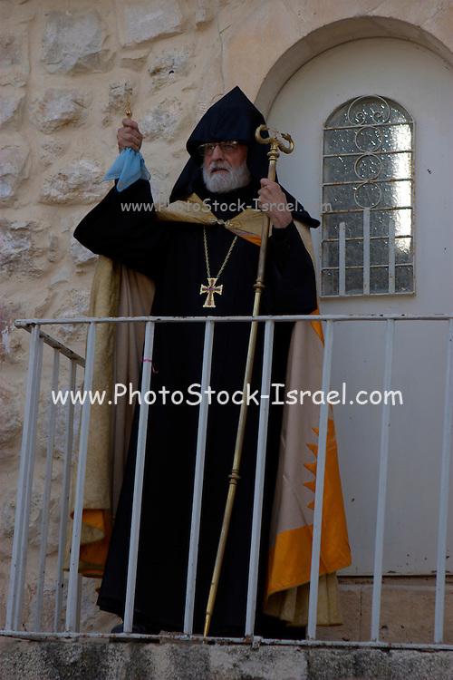 Israel, Jerusalem, The Armenian Church, Easter service April 24 2008